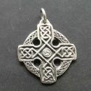 Anhänger keltisches Kreuz, Silber 925