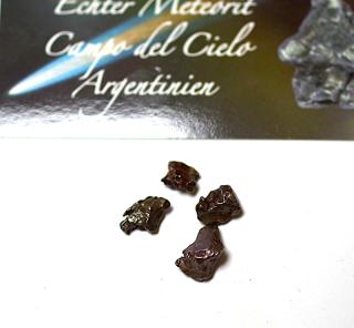 Meteoriten Konvolut 4 m. Zertifikat, Campo del Cielo