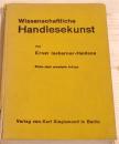 Wissenschaftliche Handlesekunst, E. Issberner-Haldane,...