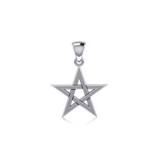 Anhänger Mittleres Pentakel, Silber 925, Peter Stone