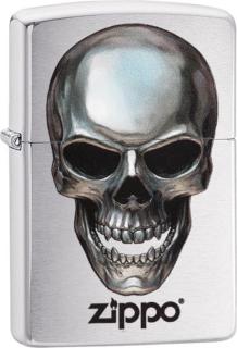 Zippo Metal Skull