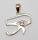 Anhänger Horusauge mit Bergkristall, Silber 925, Einzelstück