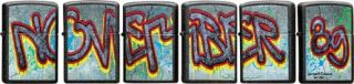 Zippo Serie November 89 Fall of Berlin Wall, Limitiert