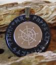 Amulett Anhänger Nullpunktspirale