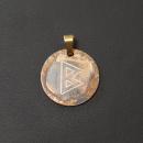 Rune Berkana Bronze graviert