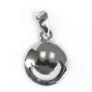 Anhänger Smiley, Silber 925