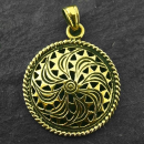 Anhänger Keltisches Sonnenschild, Bronze