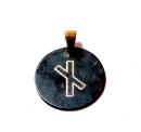 Rune Naudhiz Bronze graviert