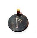 Rune Laguz Bronze graviert