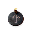 Rune Tiwaz Bronze graviert