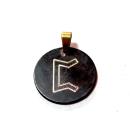 Rune Perthro Bronze graviert