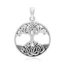 Anhänger Lebensbaum Weltenbaum Silber 925, Peter Stone