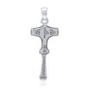 Anhänger Thors Hammer Mjölnir Silber 925, Peter...