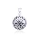 Anhänger Wikingerschild Viking Shield Silber 925,...