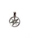 Anhänger Elfenstern, Elven Star Silber 925, Peter Stone