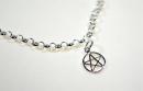 Charm Anhänger Pentagramm, Silber 925