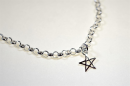 Charm Anhänger Pentakel / Pentacle, Silber 925