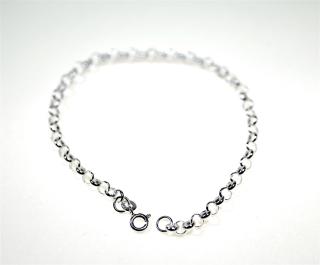 Armkettchen Bettelarmband für Charms, Silber 925