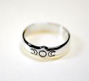 Ring Triple Moon, Silber 925