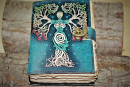 Buch der Schatten Tree Goddess, Leder