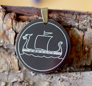 Amulett Anhänger Drachenboot