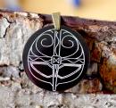 Amulett Anhänger Wikinger Maskenhelm