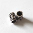 Bartperle Haarperle Pentakel, Silber 925