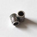 Bartperle Haarperle Thors Hammer Mjölnir, Silber 925