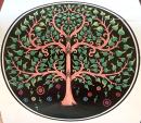 Stranddecke Yggdrasil Lebensbaum Weltenesche