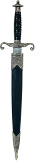 Athame, Dolch, Lilienranke