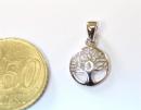 Anhänger Baum des Lebens mini, Silber 925