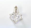 Anhänger Merkaba Bergkristall, Silber 925