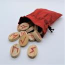 Runen, altes Futhark, Holz